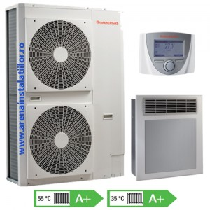 poza Pompa de caldura AER-APA monobloc IMMERGAS - AUDAX TOP 21 ErP - 21 kW