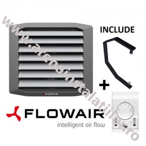 poza Aeroterma pe agent termic FLOWAIR LEO FB 30 V  - 27.3 kW