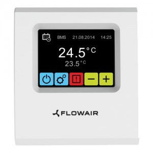 poza Controler touch screen Flowair T-box