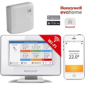 poza EvoHOME WiFi Honeywell pentru controlul centralei termice