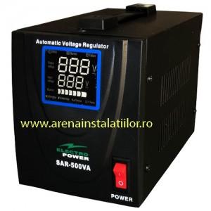 poza Stabilizator de tensiune Electropower EP-SAR-500VA-(300W)-230V