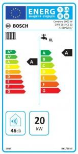 Poza ETICHETA ENERGETICA Bosch Condens 3000 W ZWB 28-3CE