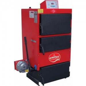 poza Cazan din otel cu functionare pe combustibil solid EMTAS EK3G 100 - 116 kW