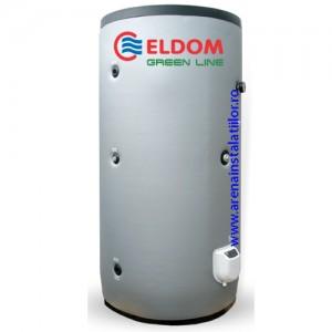poza Boiler solar cu 2 serpentine si rezistenta electrica ELDOM FV10011S2 - 1000 litri