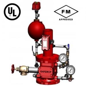 poza Aparat de control si semnalizare ACS APA-APA pentru instalatia de sprinklere RAPIDROP DN 200