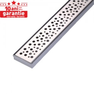 poza Rigola de dus INOX 304 GEHLER RAINFOREST G026 700x70 mm