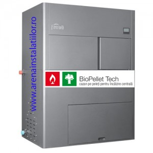 poza Centrale termice pe peleti Ferroli BioPellet Tech 30 kW
