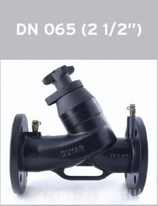 poza Robinet de echilibrare DUYAR T3020 PN16 DN 65