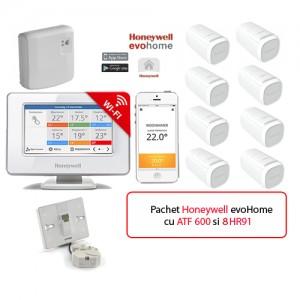 poza Honeywell EvoHOME - comanda pentru centrala si 8 calorifere