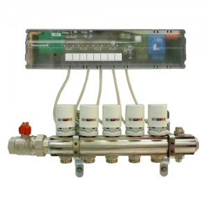 Poza Honeywell HCC80 controler wireless pentru incalzirea in pardoseala - 1