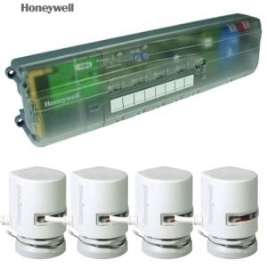 poza Honeywell HCC80 controler wireless pentru incalzirea in pardoseala cu 4 aquatoare