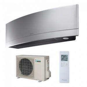 poza Aparat aer conditionat DAIKIN Emura Bluevolution FTXJ25MS-RXJ25M Inverter, silver - 9000 BTU