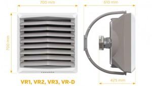 Poza Dimensiuni VOLCANO VR3 cu motor EC maxim 75 kW