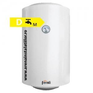 poza Boiler electric Ferroli E-GLASSTECH VBO 50 - 50 litri