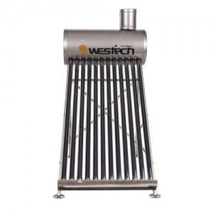 poza Panou solar nepresurizat WESTECH WT-SS470-58/1800SS cu boiler 120 litri si 12 tuburi vidate