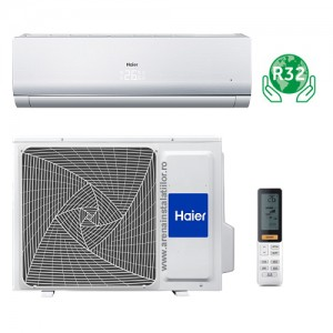 poza Aparat aer conditionat Haier Tundra Green freon R32 - 9000 BTU, model 2018