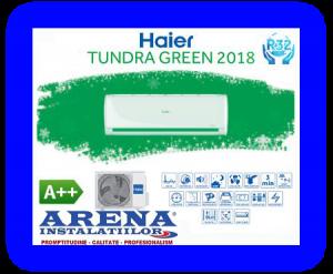 Poza Haier Tundra Green R32