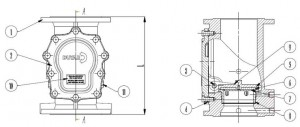 Poza Componente ACS APA-APA Duyar Y4010 DN 65
