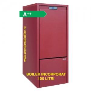 poza Centrala termica pe peleti Ferroli Biopellet 24 Plus cu boiler incorporat 100 litri