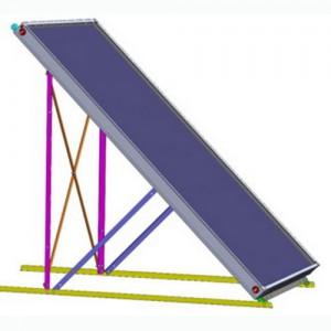 poza Kit montaj suprafata plana panou solar V-PLUS - 1 colector