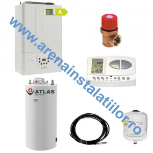 poza Pachet centrala in condensatie IMMERGAS VICTRIX TERA 24 PLUS cu Boiler Atlas 150 litri