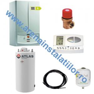 poza Pachet centrala in condensatie IMMERGAS VICTRIX 32 TT PLUS 32 kW cu Boiler Atlas 120 litri