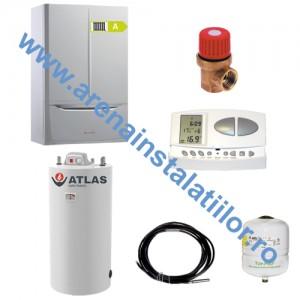 poza Pachet centrala in condensatie IMMERGAS VICTRIX MAIOR 35 TT X 1 Erp 36 kW cu Boiler Atlas 120 litri