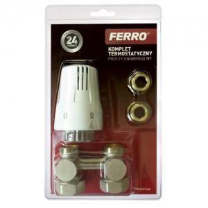 poza Set termostatat universal Ferro 3/4 cu cap termostatic