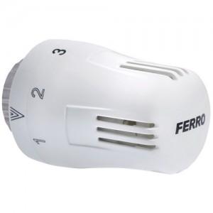 poza Cap termostatic Ferro GT10 alb