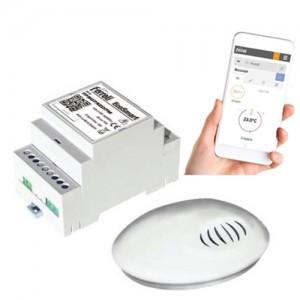 poza Cronotermostat inteligent wifi programabil prin internet Ferroli EcoSMART
