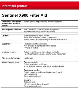 Poza Date Sentinel X900