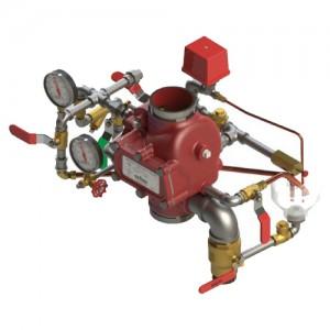 poza Aparat de control si semnalizare ACS GLOBE DN 200 - sistem umed pentru sprinklere canelate