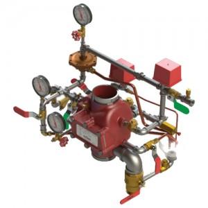 poza Aparat de control si semnalizare ACS GLOBE DN 100 sistem uscat pentru sprinklere canelate