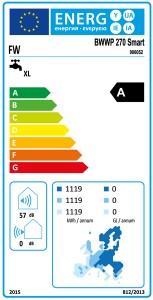 Poza Clasa energetica Boiler cu pompa de caldura Austria-Email EXPLORER EVO 270L - fara serpentina