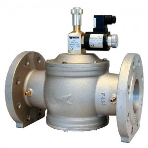 poza Electrovalva gaz aluminiu cu flanse GIULIANI ANELLO MSV400/6B normal deschis - DN 100