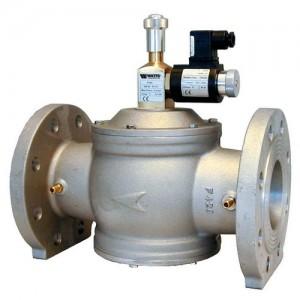 poza Electrovalva gaz aluminiu cu flanse GIULIANI ANELLO EV125 normal inchis - DN 125