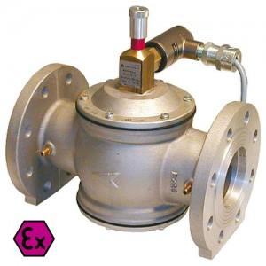 poza Electrovalva gaz aluminiu cu flanse GIULIANI ANELLO EV65/6BEExD normal inchis - DN 65