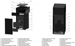 Poza Componente Centrale termice pe peleti Ferroli BioPellet Tech SC 23S
