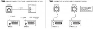 Poza Schema cablare Convector de pardoseala ingropat ISAN PRACTIC FSK41-11