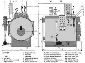 Poza Componente Cazane de abur de joasa presiune FERROLI VAPOREX LVP