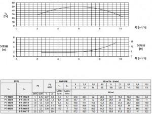 Poza Pompa centrifugala multietajata inox FORAS P 7-300/6 M - putere