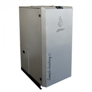 poza Cazan pe peleti compact LAFAT SM ECO 25 kW