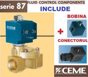 poza Electroventil de apa normal deschis CEME ESM 8718 - DN 40 (1 1/2)