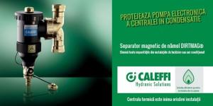 Poza 1 Separator magnetic de namol CALEFFI DIRTMAG 3/4