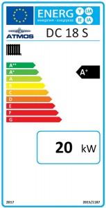 Poza Clasa energetica Centrale termice pe lemne cu gazeificare Atmos DC18S