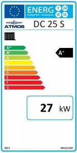 Poza Clasa energetica Centrale termice pe lemne cu gazeificare Atmos DC25S