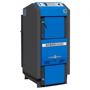 Poza Centrala termica pe lemne cu gazeificare ATMOS DC70GSX - 70 kW