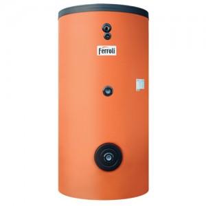 Poza Boiler solar cu 2 serpentine FERROLI ECOUNIT 300-2C WB - 300 litri
