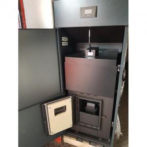 Poza 2 Cazan din otel pe peleti Ferroli BioPellet Pro 24 - 24 kW