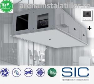 Poza Recuperator de caldura SIC CFR 75+ debit 750 mc/h